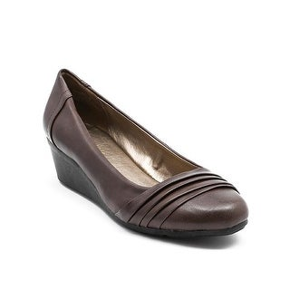 Andrew Geller Sharis Women's Heels Dark Brown