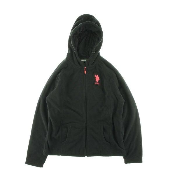U.S. Polo Assn. Womens Hoodie Fleece Monogrammed