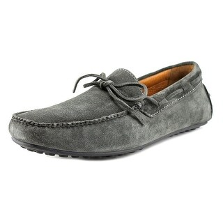 Frye Allen Tie Men Moc Toe Suede Gray Loafer