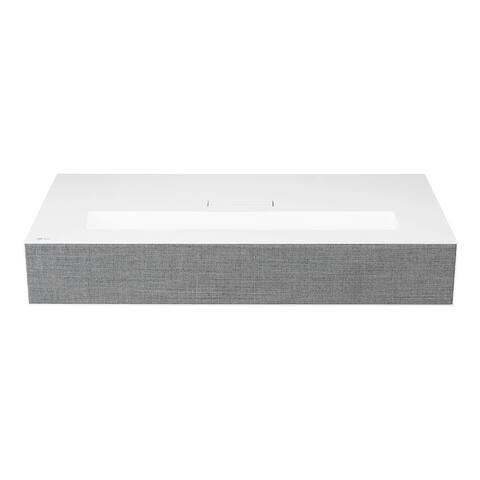 LG HU85LA 4K UHD Laser Smart Home Theater CineBeam Projector (White) - White
