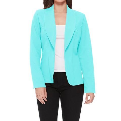 Women's Casual Long Sleeves Basic Blazer Jacket