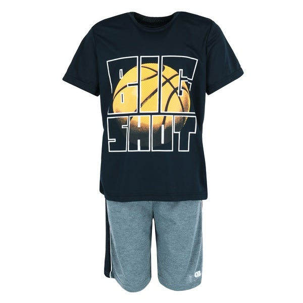 Only Boys Boy's Big Shot Basketball Short and Tee Lounge Set. Opens flyout.