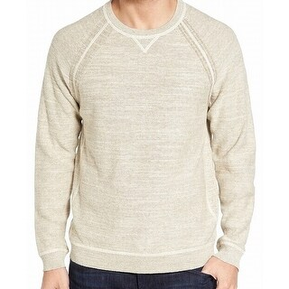 Tommy Bahama NEW Beige Mens Size 3XL Pullover Knit Crewneck Sweater