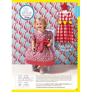 Toddlers' Dress- -*SEWING PATTERN*