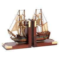 Home Locomotion 10001297 Sailing Schooner Bookends