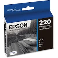 Epson T220120 Ink Cartridge f/ WorkForce & Expression Home Printer Yield Upto 175 Pages Black