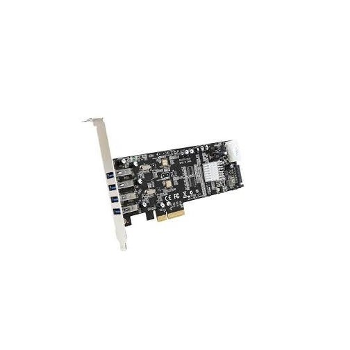Startech - Pexusb3s42v 4Port Usb 3.0 Pcie Controllerncard With Dual Bus & Uasp