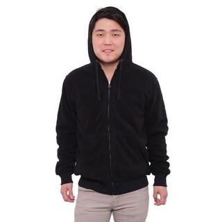 Weatherproof Front Pockets Zipper Basic Jacket Basic Jacket Black
