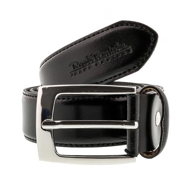 Renato Balestra W150 Black Smooth Leather Mens Belt