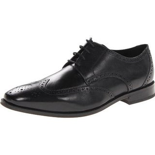 Florsheim Mens Castellano Wing Leather Wing Tip Derby Shoes