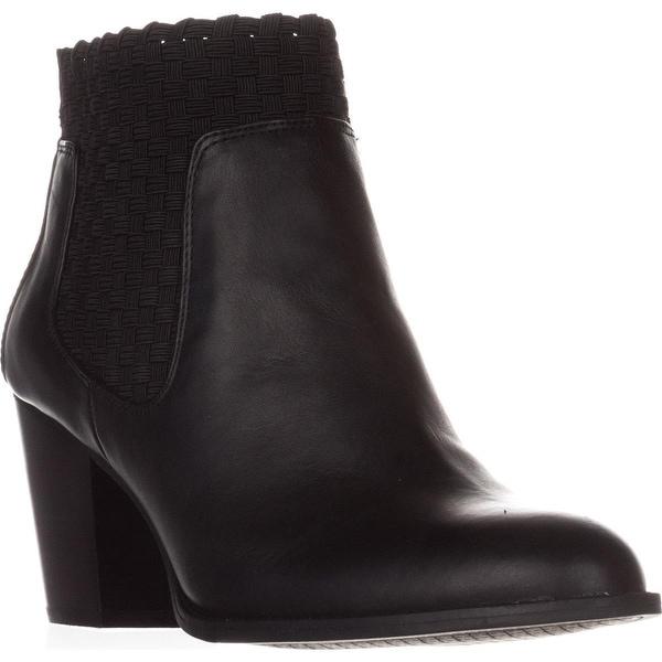 Jessica Simpson Yeni Woven Ankle Boots, Black