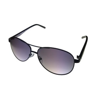 Kenneth Cole Reaction Mens Black Sunglass Aviator Gradient Lens KC1260 1A - Medium