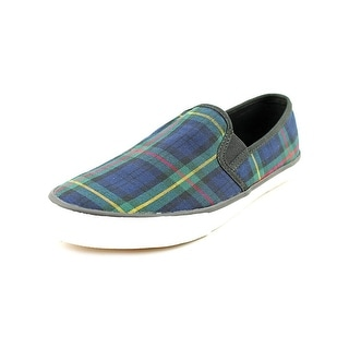 XOXO Velma Round Toe Canvas Loafer