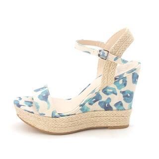 fd73c91227b5 Fergalicious Womens Vortex Fabric Open Toe Casual Espadrille Sandals - 5.5
