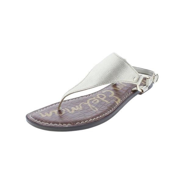 Sam Edelman Womens Greta Thong Sandals O-Ring Slingbacks