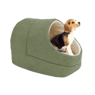 Link to GOOPAWS Cave Covered Cat & Small Dog Bed Similar Items in Cat Beds & Blankets