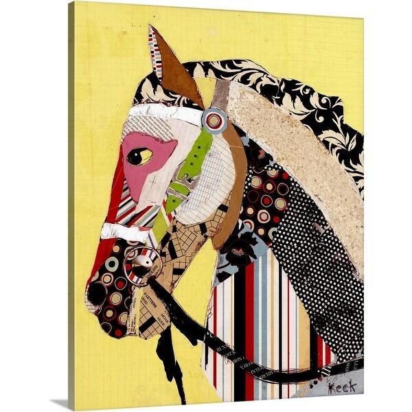 """Horse 2"" Canvas Wall Art"