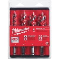 Milwaukee 4Pc Auger Set