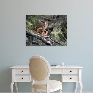 Easy Art Prints Kevin Daniel's 'Awakening' Premium Canvas Art