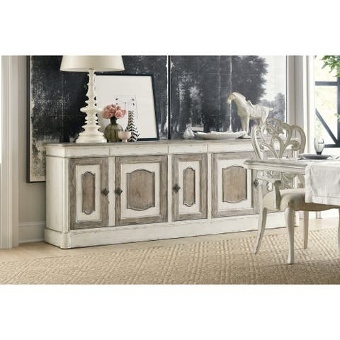 """Hooker Furniture 5865-75903-02 Tres Grand 98"""" Wide Rustic French - Chalet"""