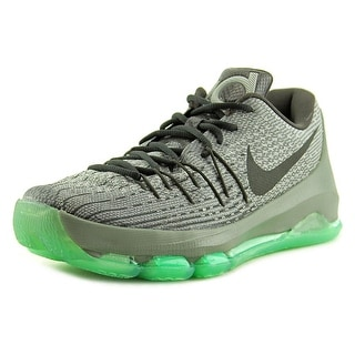 Nike KD 8 Men Round Toe Synthetic Silver Basketball Shoe