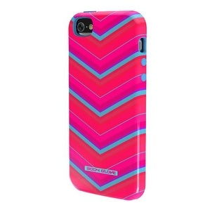 Body Glove Splash Case for Apple iPhone 5/5S (Chevron Pink and Cyan)