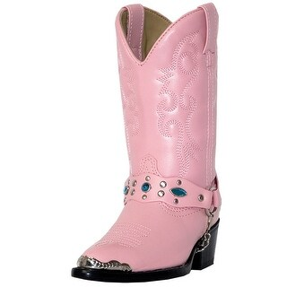 Laredo Western Boots Girls Kids Little Concho Child Pink