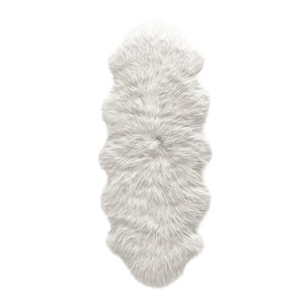 ECARPETGALLERY Handmade Faux Sheepskin Plush Rug. Opens flyout.