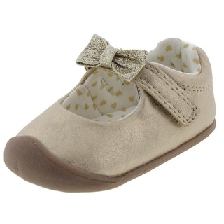 Carters Sarah Mary Janes Infant Faux Leather - 3 medium (b,m)