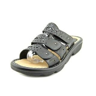 Earth Stroll D Open Toe Leather Slides Sandal