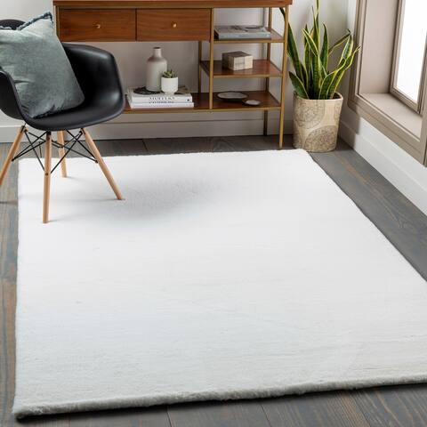 Concentrer Modern Soft Shag Area Rug