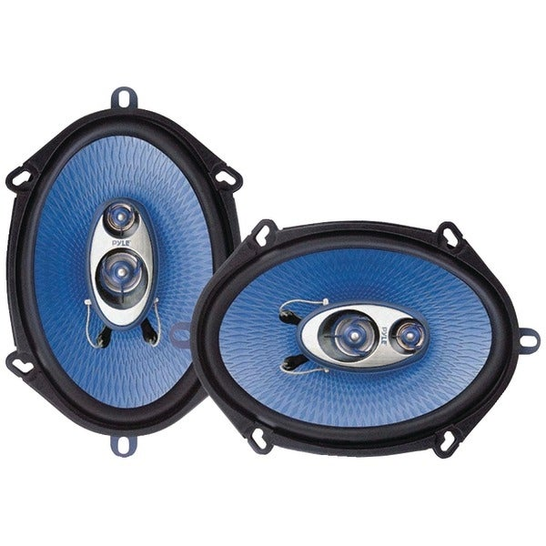 "PYLE PRO PL573BL Blue Label Speakers (5"" x 7"", 3 Way)"