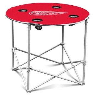 Logo Chair Detroit Red Wings Round Table 811-31