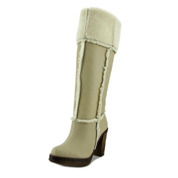 Ras Stiv.Montone Round Toe Synthetic Knee High Boot