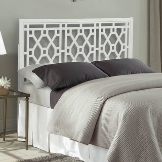 Link to Porch & Den Greenwood Chippendale Headboard Similar Items in Bedroom Furniture