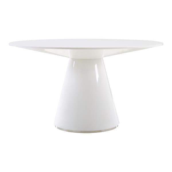Aurelle Home Modern Geometric Round Dining Table. Opens flyout.