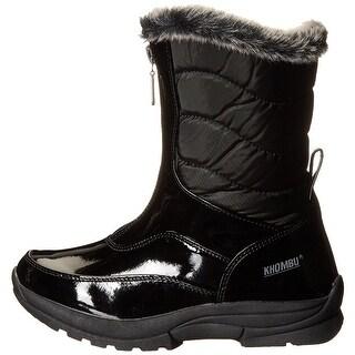 Kids Khombu Girls Davia Knee High Zipper Snow Boots