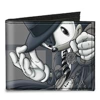 Sonic Comic #52 Detective Sonic Pose Canvas Bi Fold Wallet One Size - One Size Fits most