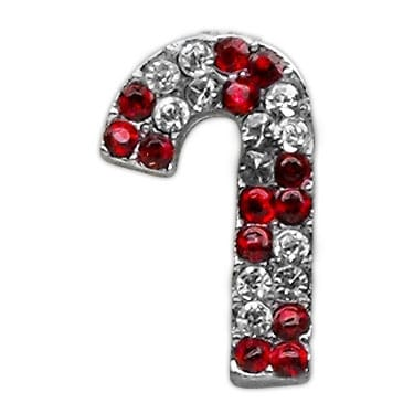 a0a54a7f16 Holiday 10mm Slider Charms Red Candy Cane .