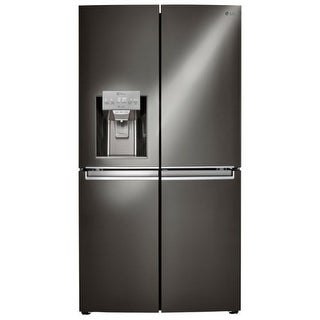 LG LNXS30866 36 Inch Wide 30 Cu. Ft. Energy Star French Door Refrigerator with D