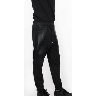 Stylish French Terry Moto Sweatpants (BP-46)