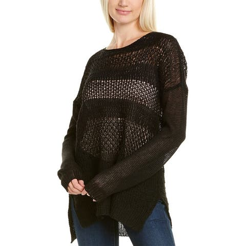Helmut Lang Linen Boat Neck Sweater