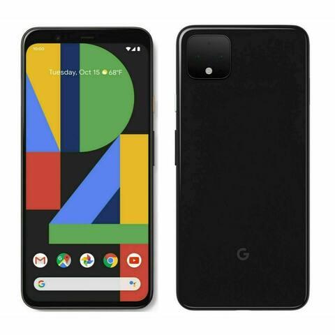 Google Pixel 4 XL 64GB G020J Just Black Verizon Refurbished Smartphone