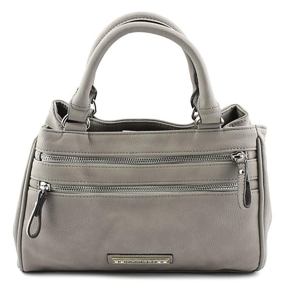 Rosetti Charlotte Grab Bag Satchel Women Synthetic Satchel - gray