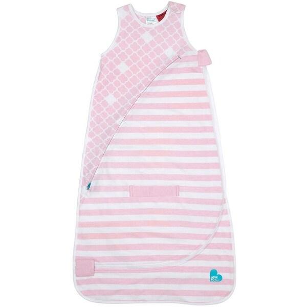 Love To Dream Inventa Cotton Sleep Bag, Trans-Seasonal, Pink, 12-36 Months - Pink - N/A