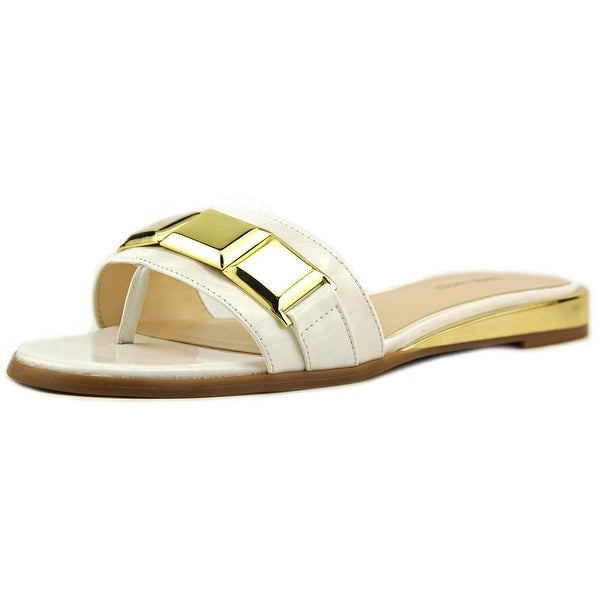 Nine West Xtina Women Open Toe Synthetic White Thong Sandal