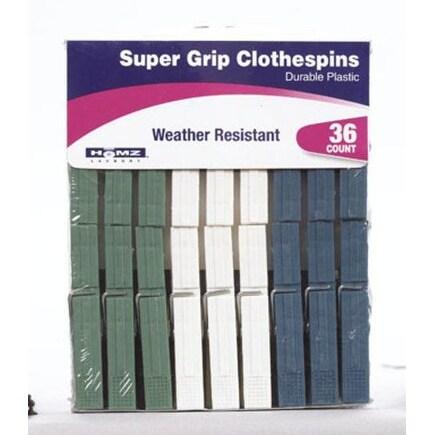 Homz 1220215 Clothespins, Plastic