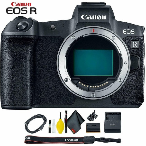 Canon EOS R Mirrorless Digital Camera (Body Only). Opens flyout.