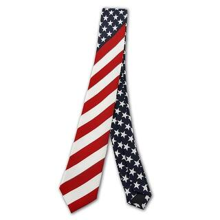 U.S. American Flag Necktie USA https://ak1.ostkcdn.com/images/products/is/images/direct/7ec1cf25ffef6d0cd20ff5776ac71deab07eae27/U.S.-American-Flag-Necktie-USA.jpg?impolicy=medium