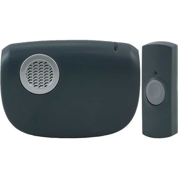 Ge 19240 Portable Door Chime With Doorbell Button